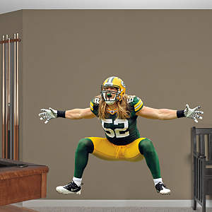 Clay Matthews Sack Celebration Fathead Wall Decal